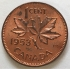 CANADA 1953...1 CENT COIN...VARIETY